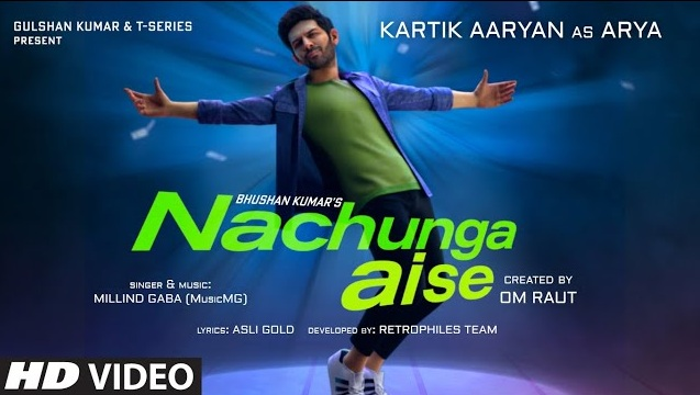 Nachunga Aise Lyrics - Millind Gaba Ft Kartik Aaryan