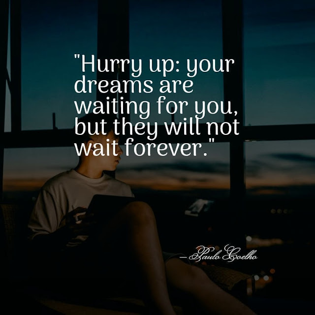 Inspirational don't waste time quotes