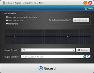 GiliSoft Audio Recorder Pro 7.4.0 Full Version