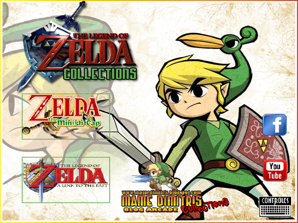 Zelda Advance Collections Portable Menu Zs Gratisjuegos