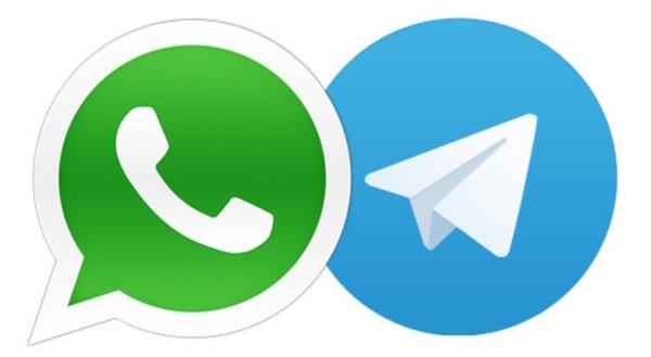 dati telegram whatsapp memoria esterna