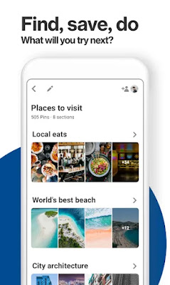 Pinterest Lite Free Android app on Apcoid.com