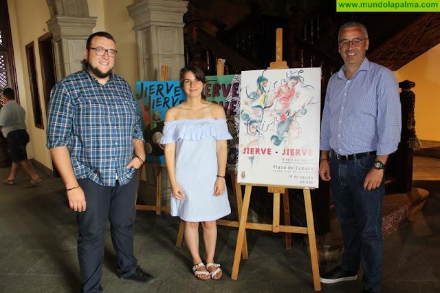 Una pintura de Andrea Rodríguez Pais ilustrará la tercera edición del festival juvenil Jierve Jierve