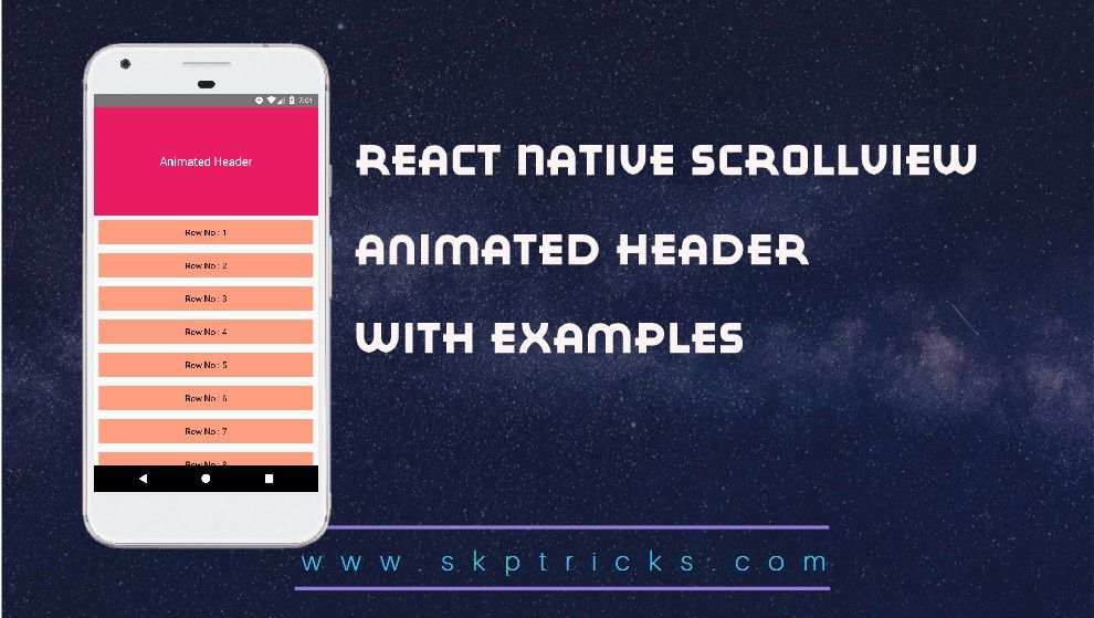 React Native Webview Scroll Android