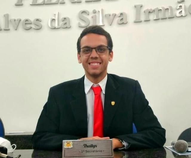 Vereador Thallys Bruno solicita a conclusão da obra da creche do Bom Conselho, situada ao lado do Parque do Bambu em Belo Jardim