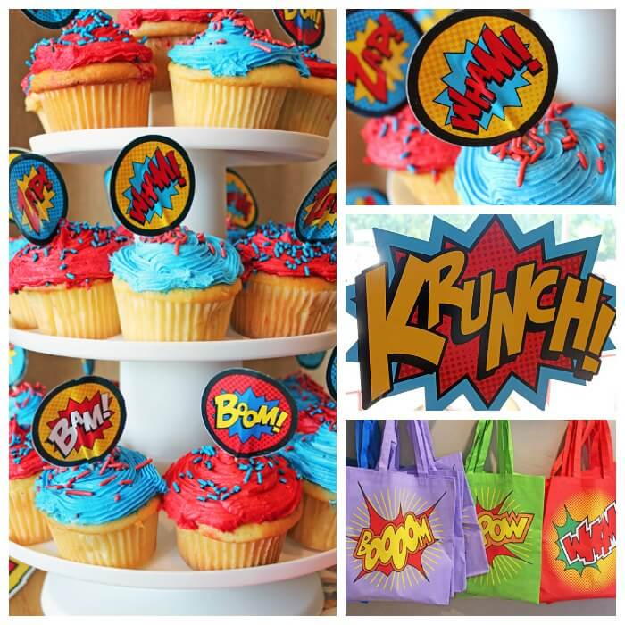 5 Low Stress Birthday Party Ideas For Ages 1 Through 8: Super Hero Party Ideas For A Stress Free Celebration