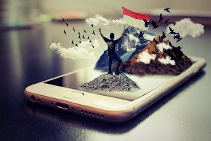 Cara Edit Foto 3D di Picsart Android