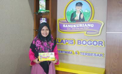 Rizka Wahyu Romadhona, Lapis Bogor Sangkuriang