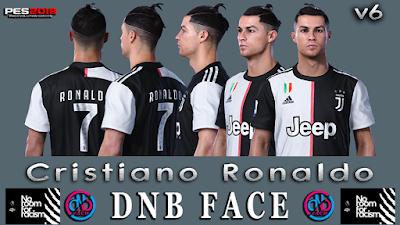 PES 2019 Faces Cristiano Ronaldo V6 by DNB