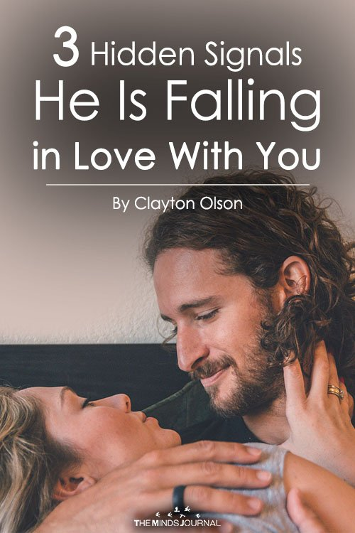 3 Hidden Signals He Is Falling in Love With You