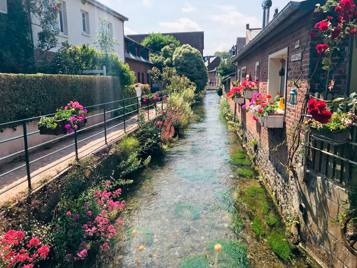The river Veules in Veules-les-roses