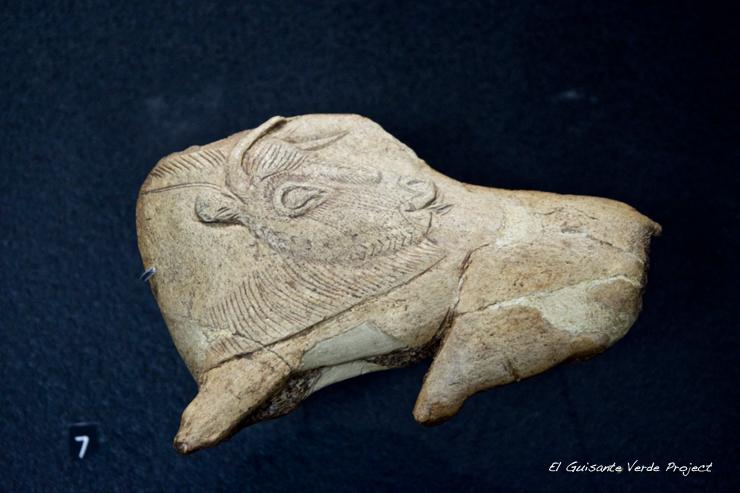Bisonte Museo Nacional de Prehistoria, Les Eyzies de Tayac - Dordoña Perigord por El Guisante Verde Project
