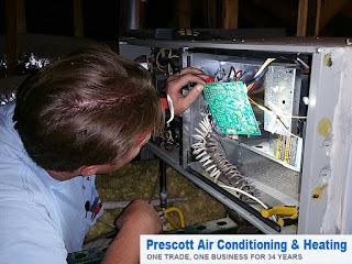 Prescott Air Conditioning can keep the furnace in your Prescott home running in top condition.