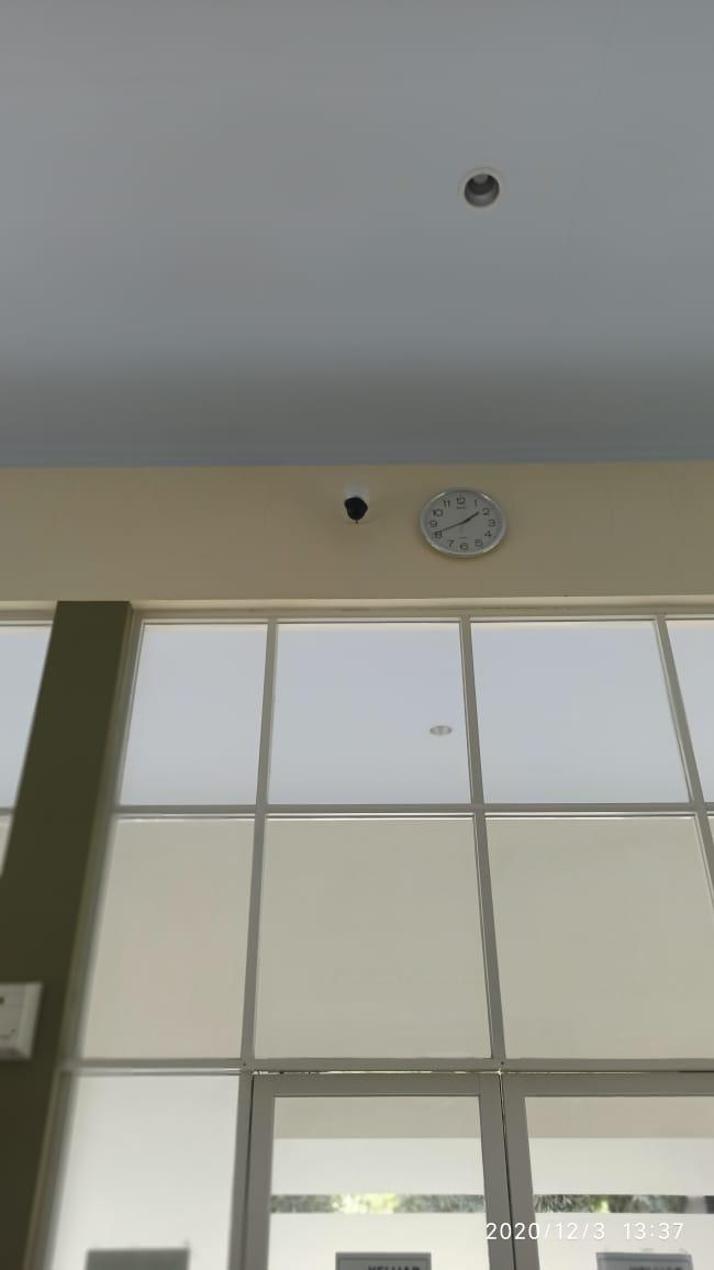 Position Kamera CCTV di PT Solusi Bangun Indonesia Tbk