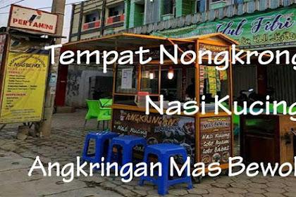 Tempat Nongkrong Sambil Makan Nasi Kucing Favorit di Angkringan Mas Bewok