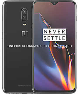 Oneplus 6T Official Build upgrade Firmware File SD Card File 9.0.5