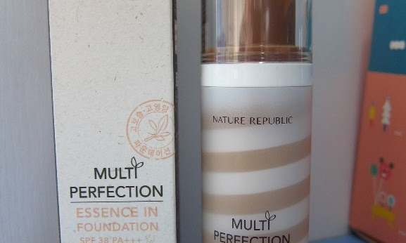 Nature Republic Multi Perfection Essence in Foundation