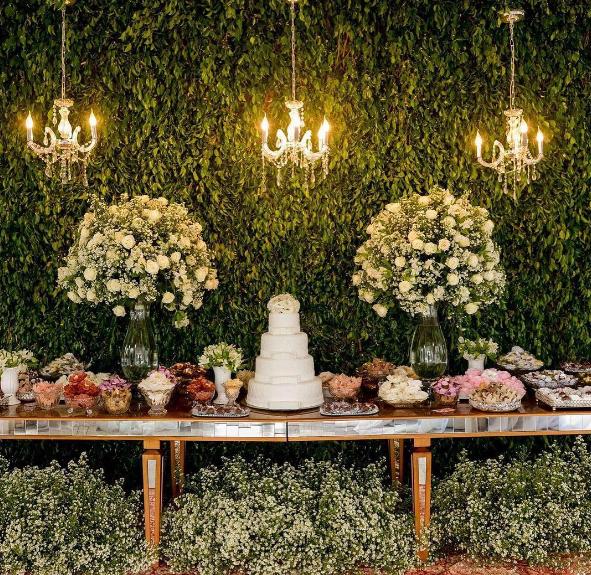 Una boda tem tica de jard n rom ntico for Jardin romantico