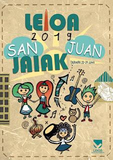 2019 Leioako San Juan jaietako kartela