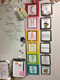 CHAMPS: bulletin board set to help implement the CHAMPS program into your classroom
