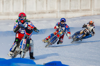 В Уфе прошел третий этап Суперлиги по мотогонкам на льду 27.01.2018