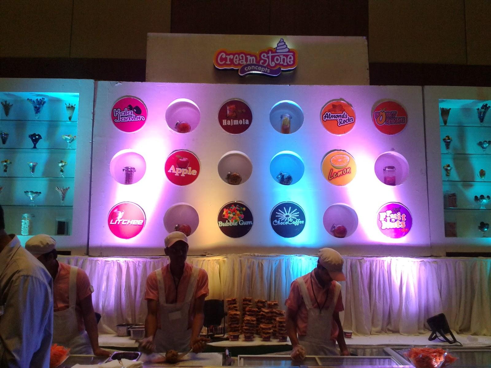 Hyderabad Times Food Award Cream Stone