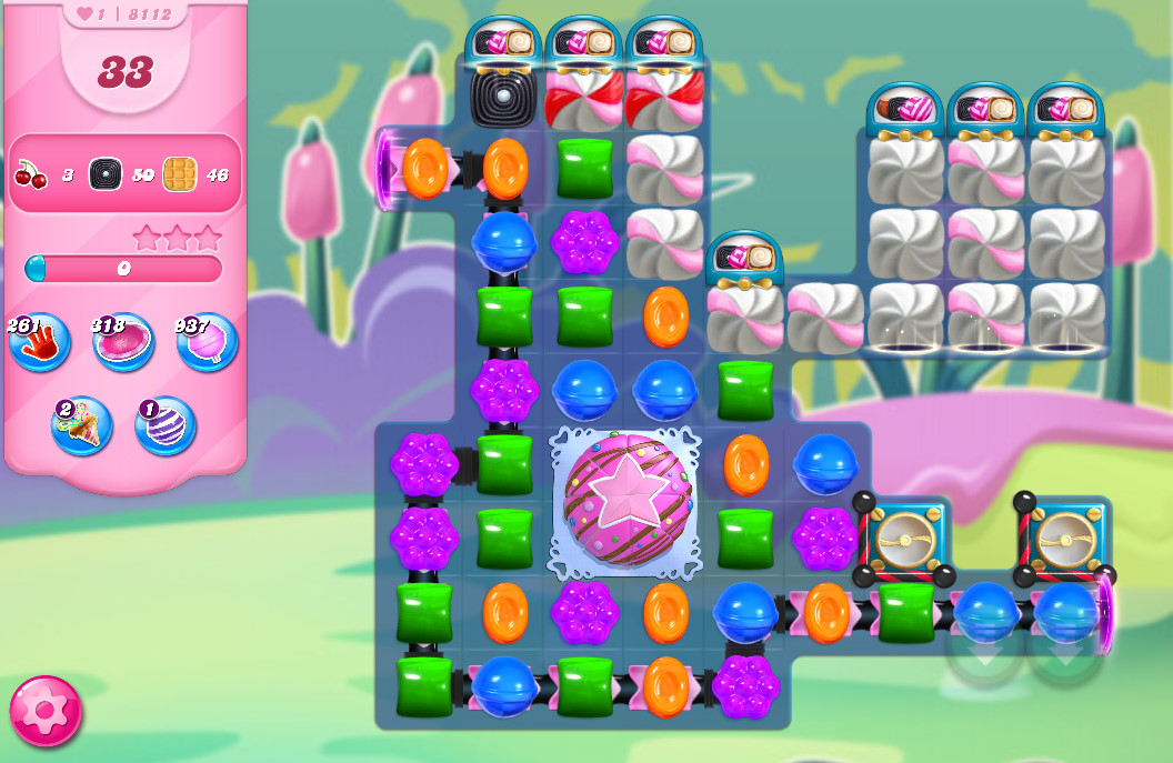 Candy Crush Saga level 8112
