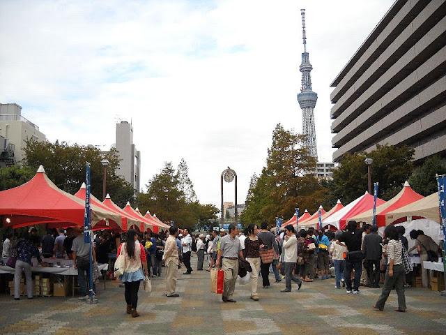 Glass Fair at Sumida-ku, Tokyo