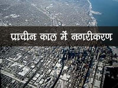 नगरीकरण के विकास की पृष्ठभूमि | प्राचीन काल में नगरों का विकास | Prachin Kaal Me Nagrikaran