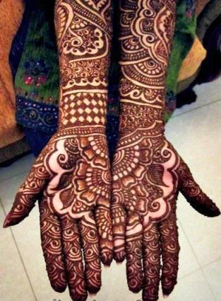 best bridal mehndi designs full hands