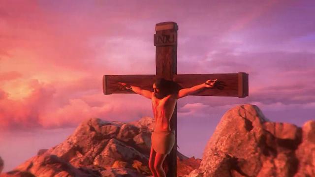 I am Jesus Christ Cross Crucifixion