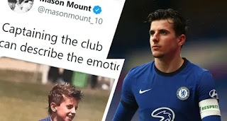 Mason Mount proud to wear Chelsea captain's armband for first time