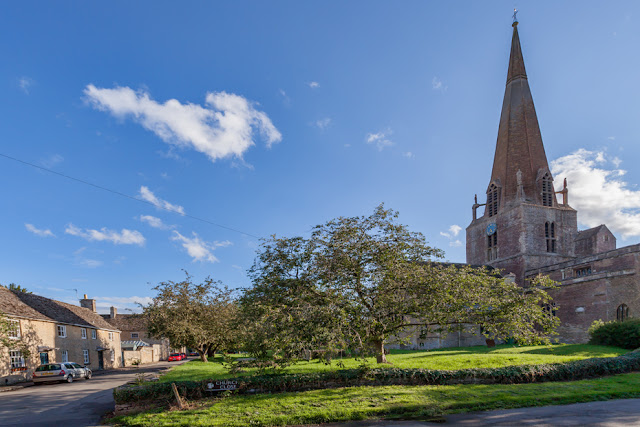 Church green at Bampton in Oxfordshire used for Downton Abbey by Martyn Ferry Photography