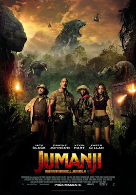 Jumanji Welcome To The Jungle 2017 DVD9 R1 NTSC Latino