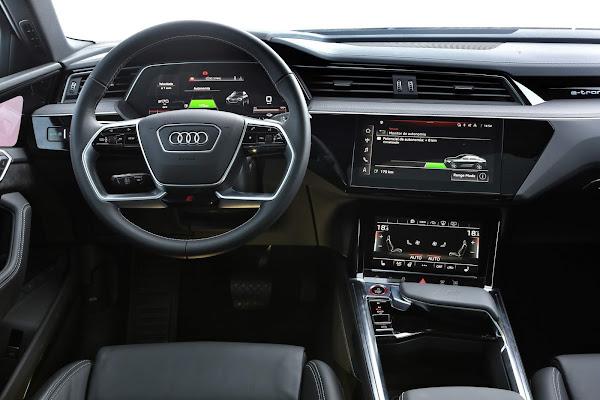 Audi e-tron Sportback 2022 - Brasil - interior