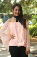 Rakul Preet Singh in lovely Pink Crop Top and Black Trousers at Jaya Janaki Nayaka success meet 071.JPG