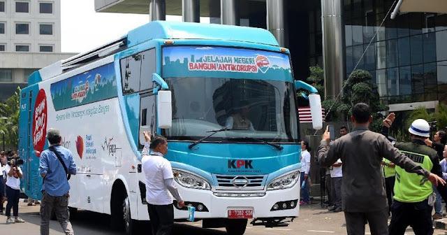 KPK Kirim Bus 'Antikorupsi' ke 11 Daerah, Mau Incar Siapa?