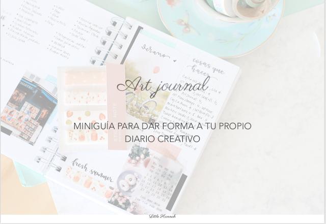 Descargable: Miniguía para crear tu propio art journal