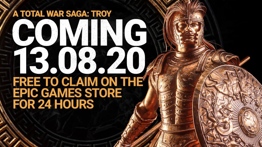 total war saga troy pc epic games store exclusive free turn-based strategy game creative assembly sega