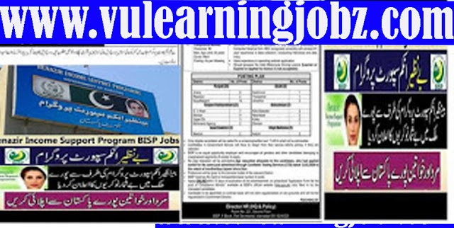Latest Jobs Benazir Income Support Program BISP JOBS 2021 for Compliance Monitor  & MORE Vacancies