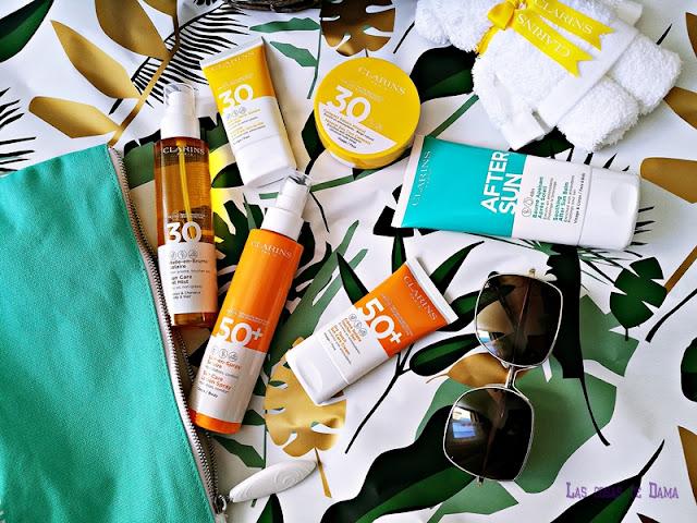 Clarins proteccion solar  Solaire sunprotect verano beauty belleza verano summer