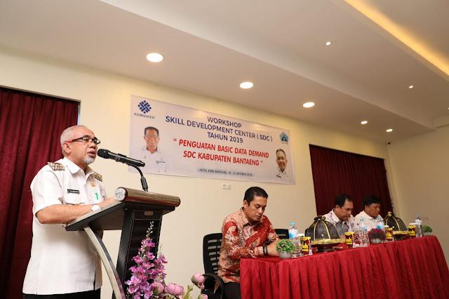 Wujudkan SDM Berkualitas, Pemkab Bantaeng Gelar Workshop Skill Development Center Tahap III