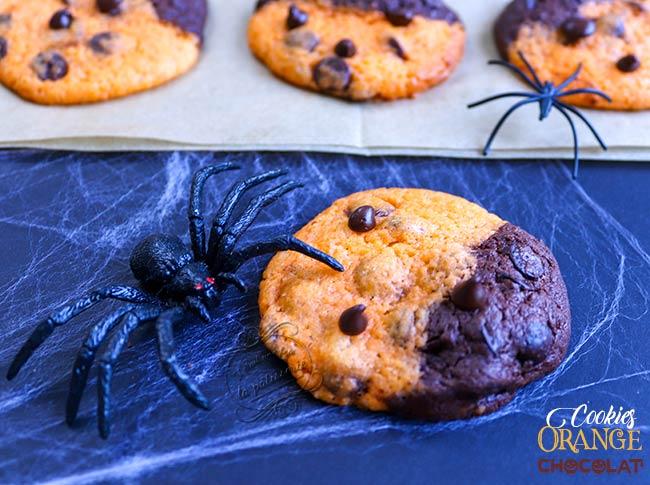 recette cookies halloween