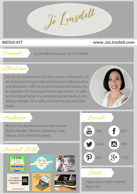 Jo Linsdell Media Kit 2016