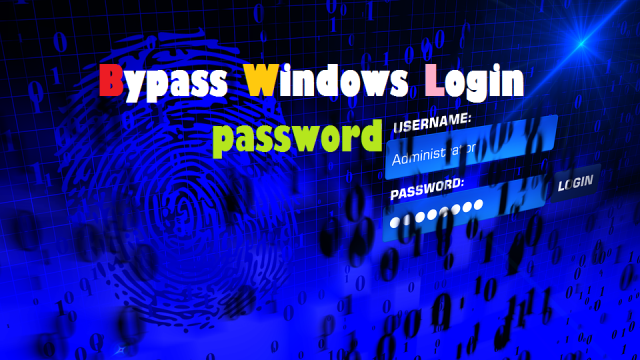 how to bypass windows login