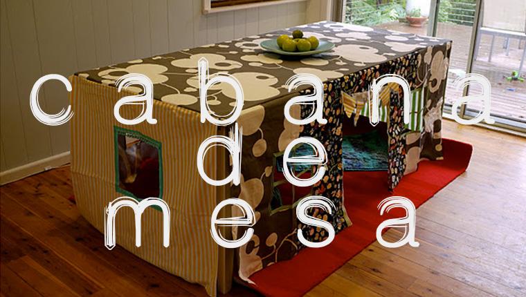 cabana de mesa