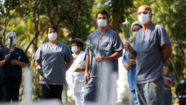 Brasil sobrepasa los 100.000 casos positivos de la Covid-19