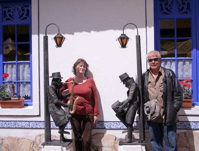 turistas en Usaquén