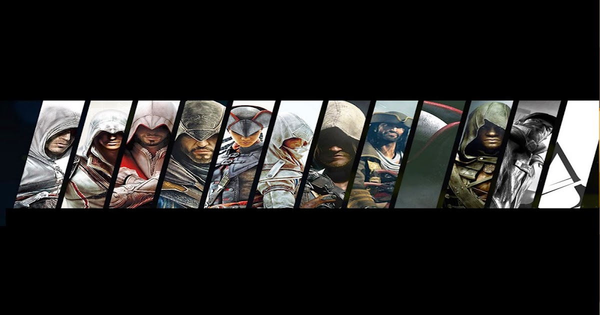 Channelartyoutube Assassin Creed Speacial Youtube Channel Art