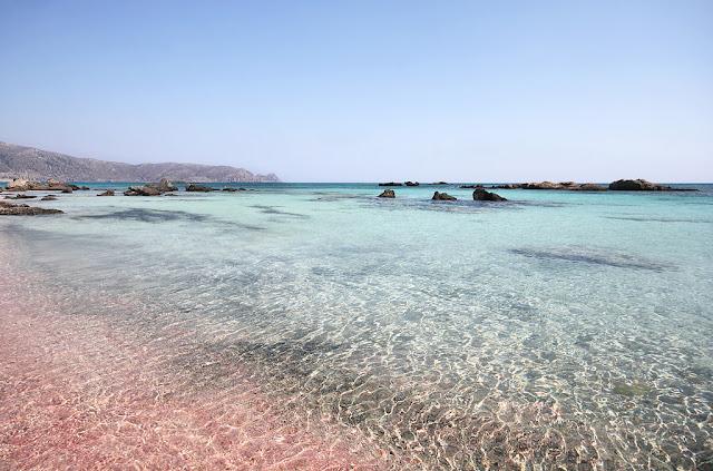 spiaggia elafonissi, creta